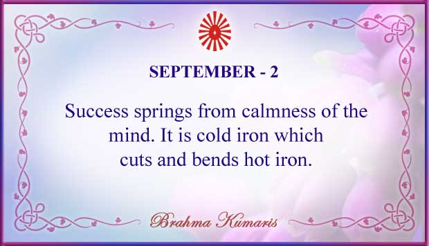 Thought For The Day September 2