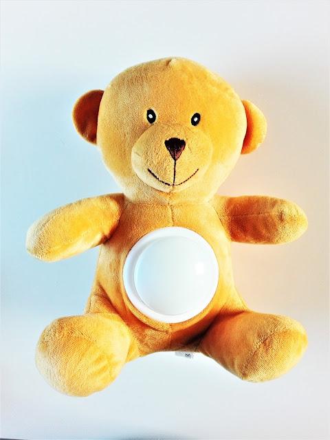 przytulanka do spania świecąca, prezent dla dziecka