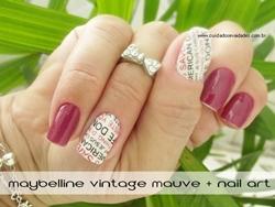 Esmalte Maybelline Vintage Mauve