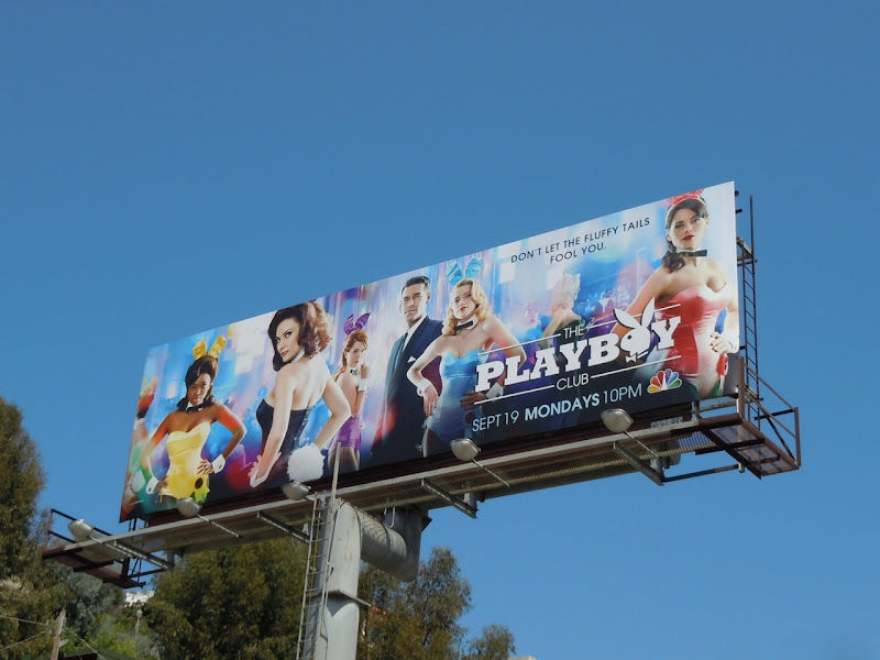 The Playboy Club NBC billboard