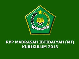 RPP Aqidah Akhlak Kelas 5 MI Kurikulum 2013 (Madrasah Ibtidaiyah)