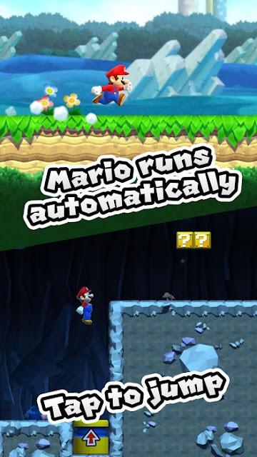 Screenshoot Super Mario Run v2.1.0 [Unlocked] APK Download