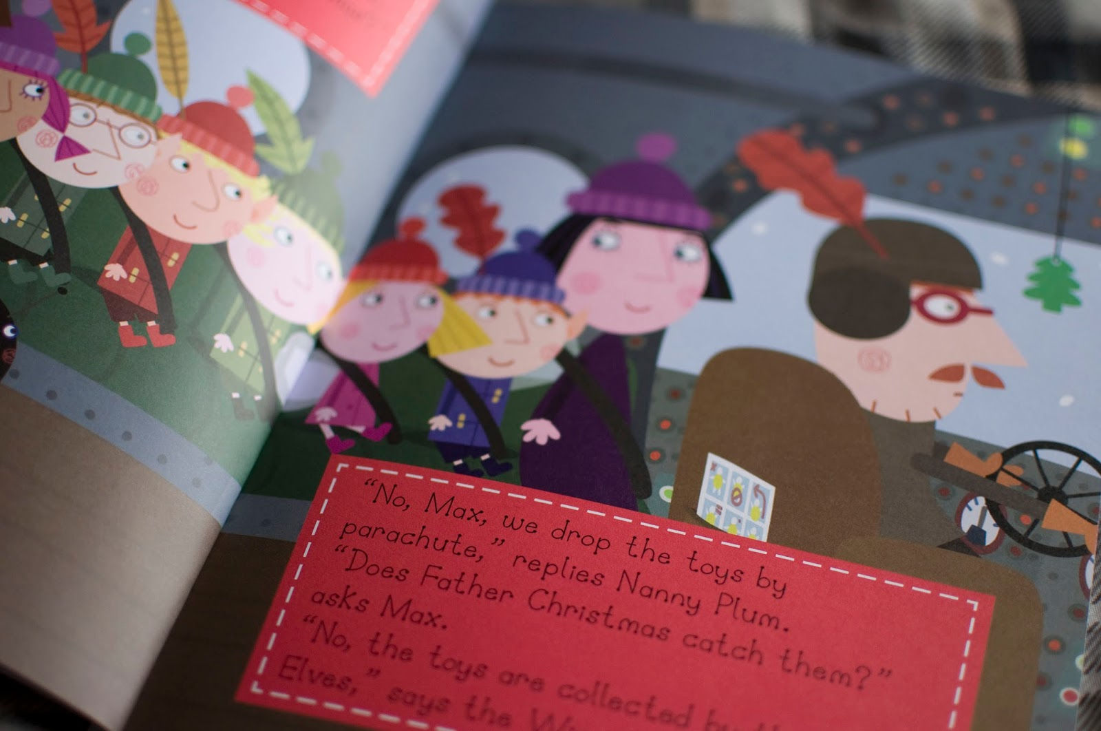 penwizard ben hollys personalised christmas book - Ben And Holly Christmas