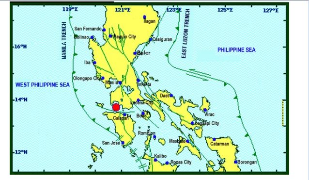 Magnitude 5.4 earthquake jolts Metro Manila, Luzon areas on April 4, 2017