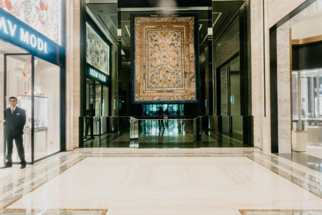 MGM Cotai owns a collection of 28 rare royal carpet tapes