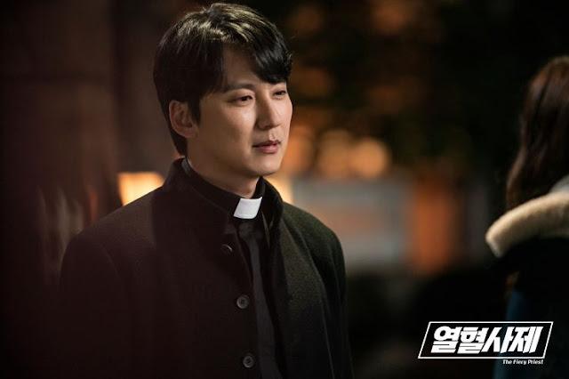 fiery priest kdrama first impressions Kim Nam Gil