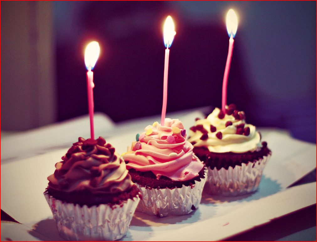 Sweet allure first blog birthday Cake blogger