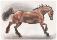 equine art, equestrian artworks