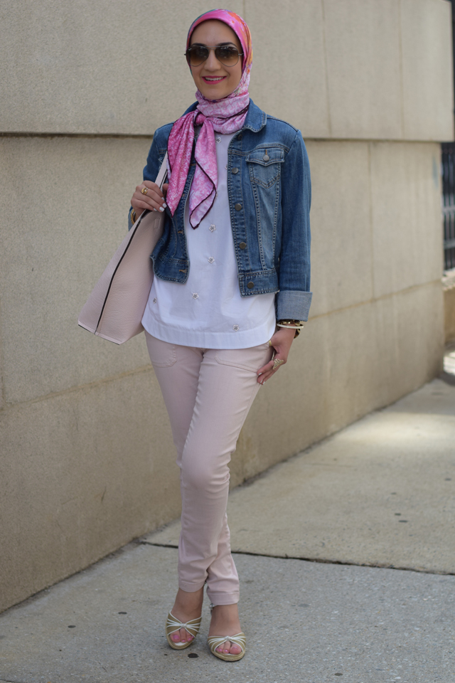 A Day In the Lalz; Pretty in Pink; Fashion; Modesty; Fashion Blog; J.Crew; Summer; Pink; Hijab; Hijabi