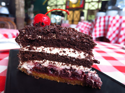 Stuttgart Blackforest Boutique S-Café, black forest cake