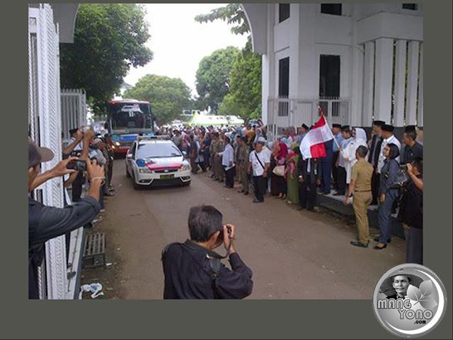 Pemberangkatan Jemaah Calon Haji Subang, Jawa Barat 2016