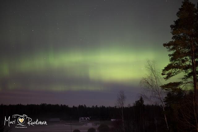 revontulet, Lieto, valokuvaus, Turku, luonto,