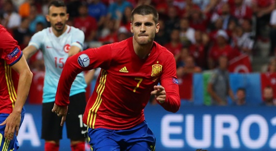 Spain's Alvaro Morata has been in goalscoring form at Euro 2016