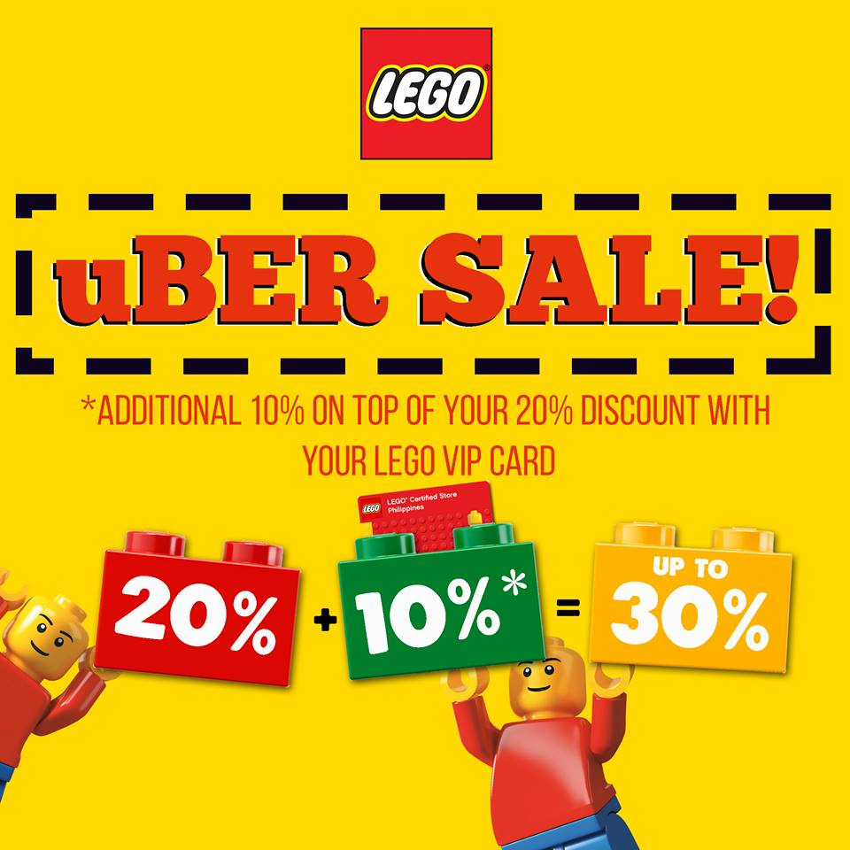 Manila Shopper: LEGO uBer Christmas SALE: Dec 2017