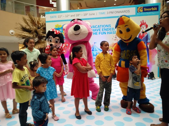 MEET AND GREET WITH PIKACHU AT MY INORBIT MALL WHITEFILED