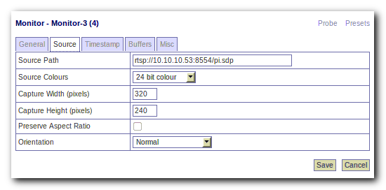 techstuff: Using the Raspberry Pi Camera Module with Zoneminder