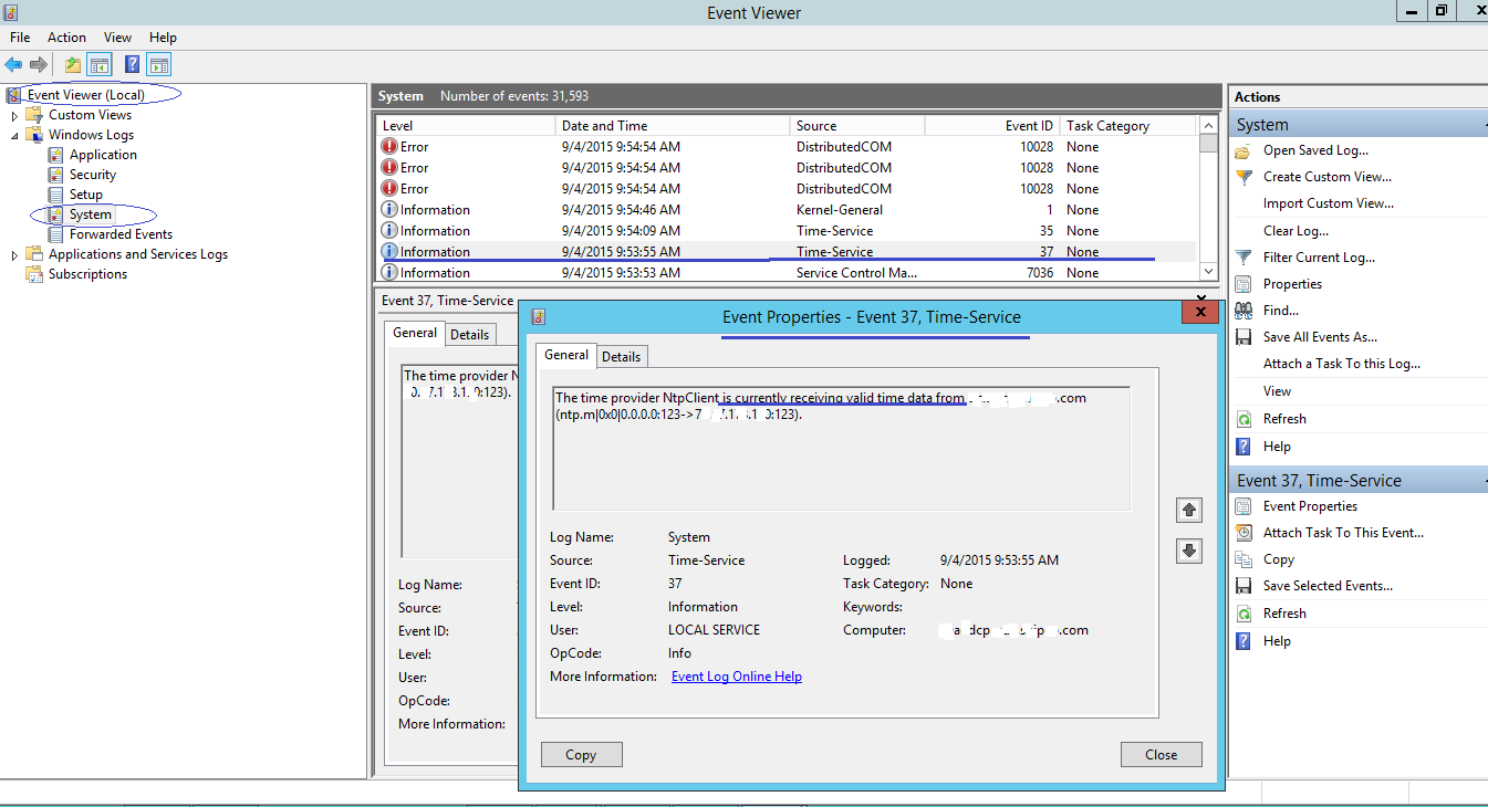 Setting NTP Client for Time Sync on Windows Active Directory