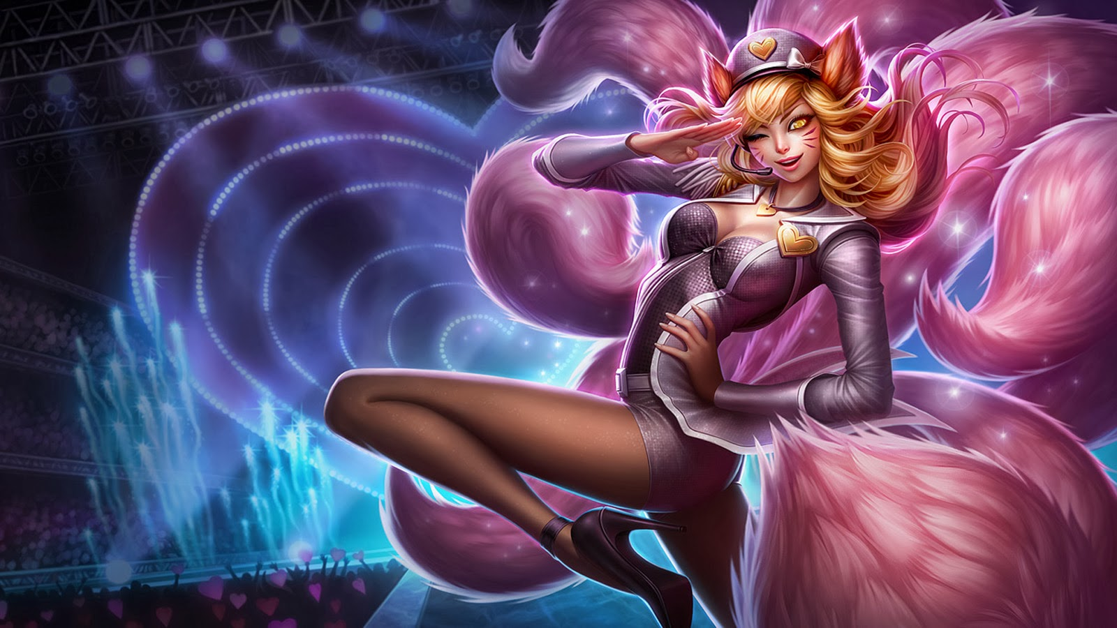 Ahri League of Legends Popstar 27 Wallpaper HD