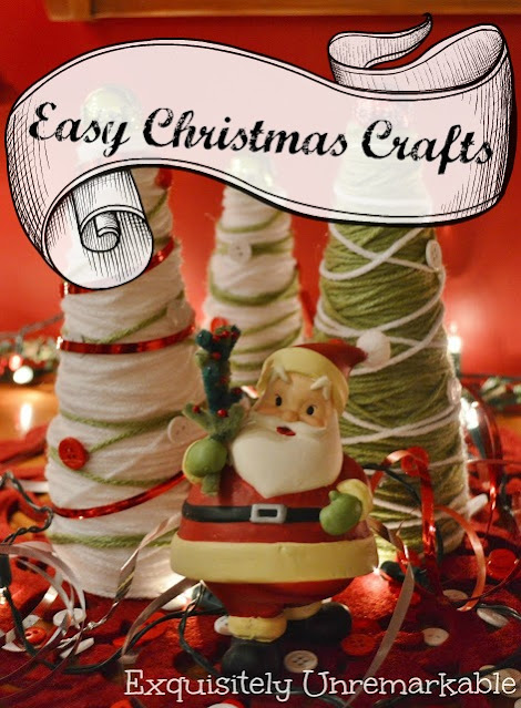 Easy Christmas Crafts Graphic