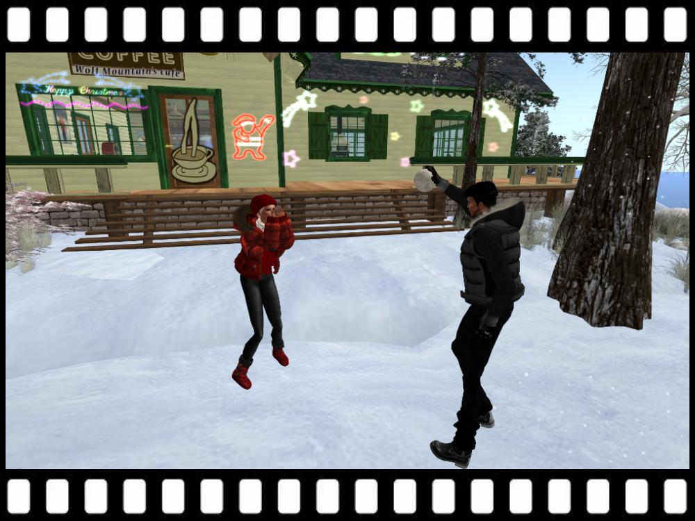 Second Life Hot News Wolf Mountain Ski Resort Holiday