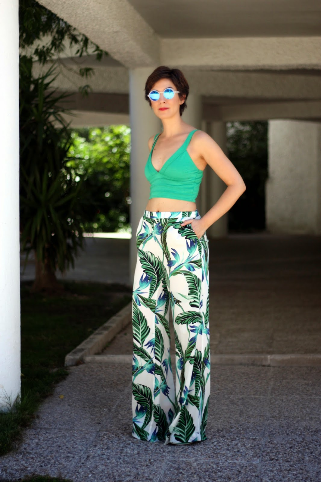 7a352401dc4a0 Combinar pantalon palazzo archivos oh blog JPG 1066x1600 Pantalón palazzo  cómo combinar tipo completo