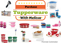 Tupperware with Melissa