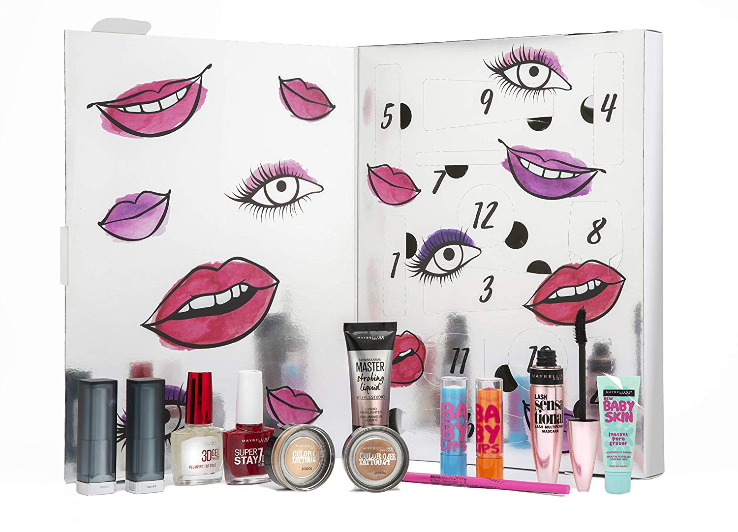 calendrier avent 2018 maybelline