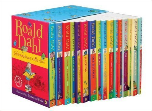 World Book Day Roald Dahl Complete Book Collection Giveaway with www.Cottages.com
