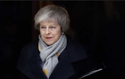 UK Parliament Rejected Theresa May's Brexit Deal