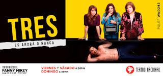 """TRES """"Ven a parir de la risa"""" Bogota 2019"""