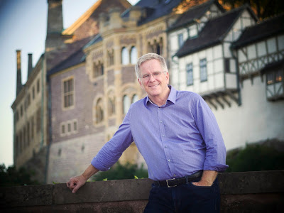 Travel expert Rick Steves will talk at the Travel and Adventure Show in Chicago.