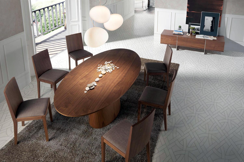 Muebles de Comedor: EL COMEDOR SE LLENA DE DISEÑO ITALIANO