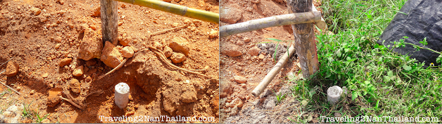 Chanot poles for your land in Thailand