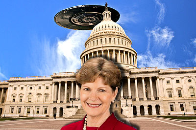 Another Senator Reports Receiving Secret Briefing On UFOs