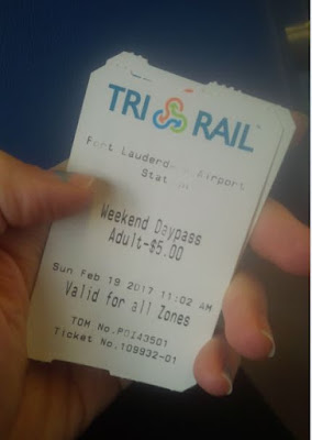 Train tickets from Ft. Lauderdale to Miami Airport