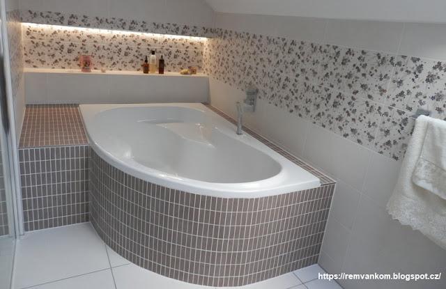 Ремонт ванной комнаты делали своими руками. Стала больше и красивей