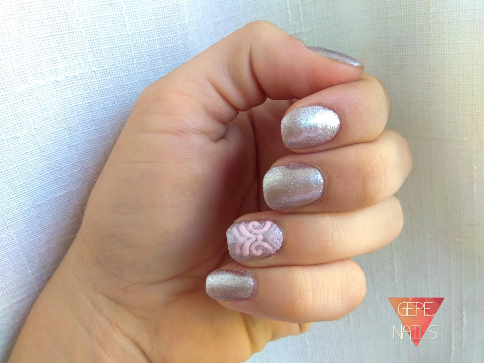 Gepe Nails Pink Metal Nyx