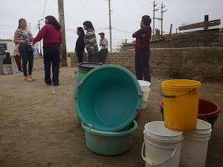 Resultado de imagen para desabastecimiento de agua en hualmay
