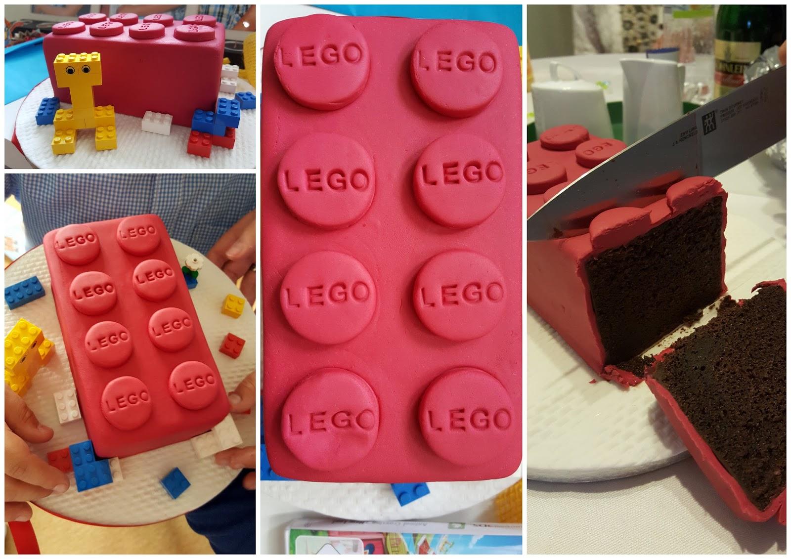 Der Lego Kuchen