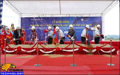 Sửa chữa đạt quy chuẩn trạm xử lý nước thải - Nhà máy xử lý nước thải Nha Trang