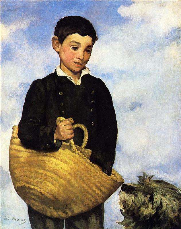 Edouard Manet, Schicksal, das Leben, Tod, Geburt, Schmerz, Kummer, Leid, Trauer, Verlust, das neugeborene, unglück, eltern, kinder, painting, malerei, bild, poetische Art