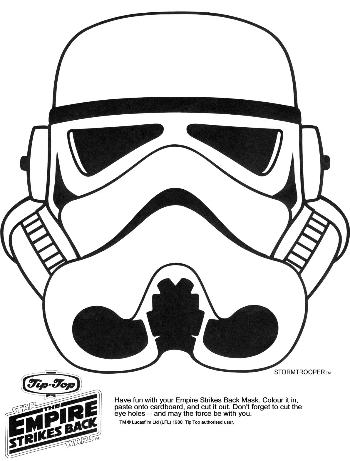 Page 2 Multicultural Star Wars Printable Masks