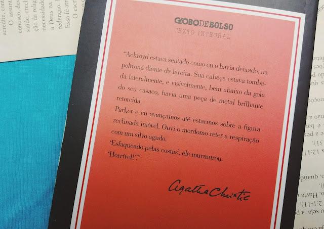Resenha literária O Assassinato de Roger Ackroyd, Agatha Christie