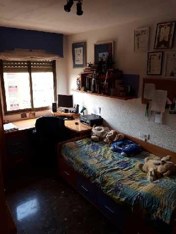 comprar piso calle pintor carbo castellon dormitorio