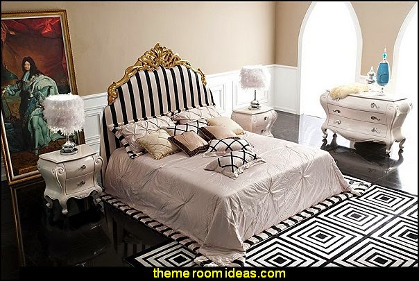 Modern Bedroom Dresser - Mademoiselle Luxury bedroom designs - Marie Antoinette Style theme decorating ideas - French provincial furniture baroque style - Louis XVI furniture - Rococo furniture - baroque furniture - marie antoinette bedroom ideas - marie antoinette bedroom furniture
