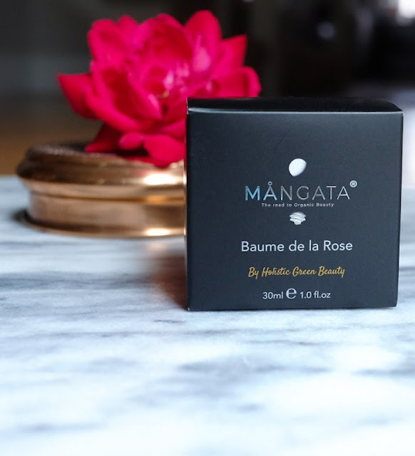 Review of Holistic Green Beauty's MÅNGATA Baume de la Rose