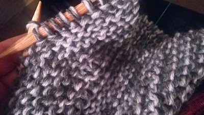 thick, bulky warm scarf hand knit and for sale at https://www.etsy.com/shop/jeanniegrayknits