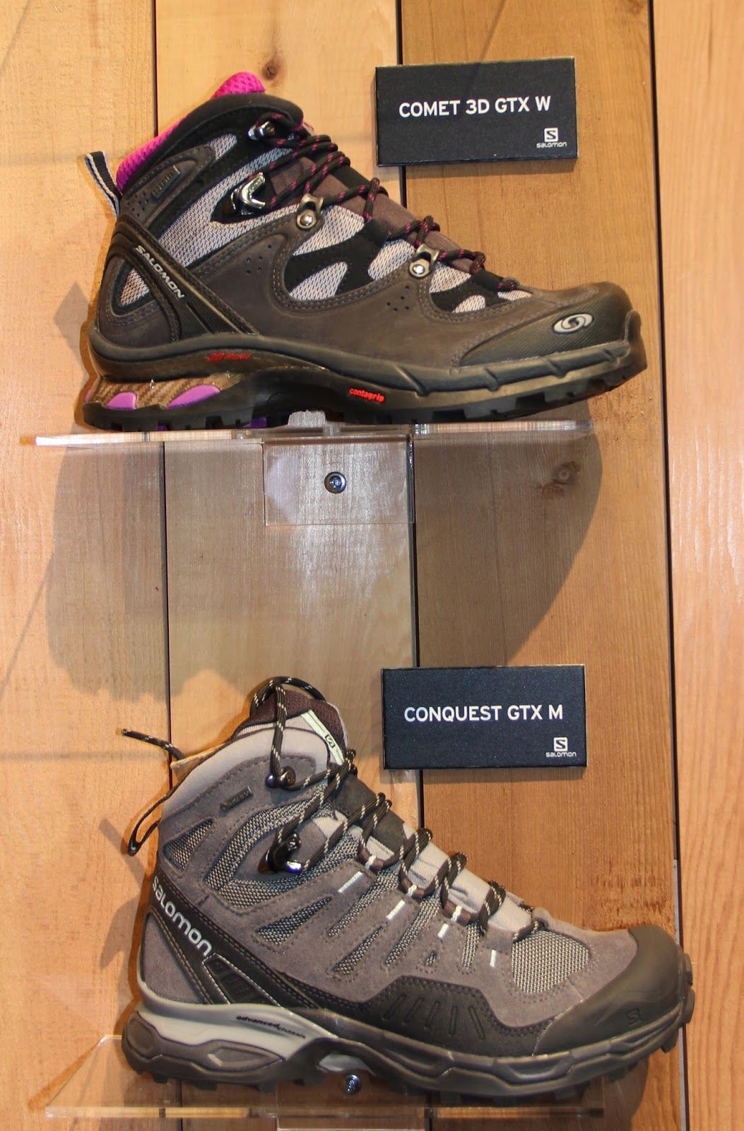 hot sale online 979ba 7f9b2 salomon comet premium 3d gtx review | Becky (Chain Reaction ...