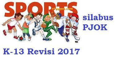 SILABUS dan RPP PJOK Kelas 4,5 dan 6 SD Kurikulum 2013 Revisi 2017
