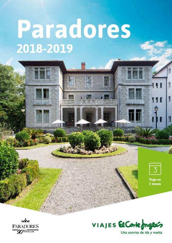 Catálogo El Corte Inglés Hoteles España 2018-19